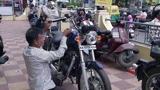 Royal Enfield Thunderbird 350 BS4 2018 Extra modification || JC Road || Bangalore