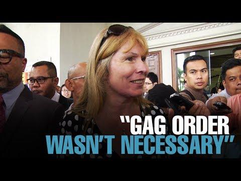 NEWS: Gag order unnecessary, says Sarawak Report editor