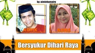 Siti Nordiana Achik Spin Bersyukur Dihari Raya Lirik.mp3