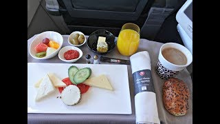 Turkish Airlines A321- Beirut to Istanbul Business Class