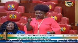 MP Millie Odhiambo's panty remark startles Parliament on closing day thumbnail