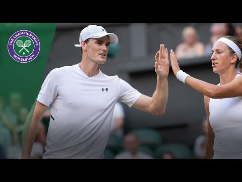 Jay Clarke & Harriet Dart vs Jamie Murray & Victoria Azarenka SF Highlights | Wimbledon 2018