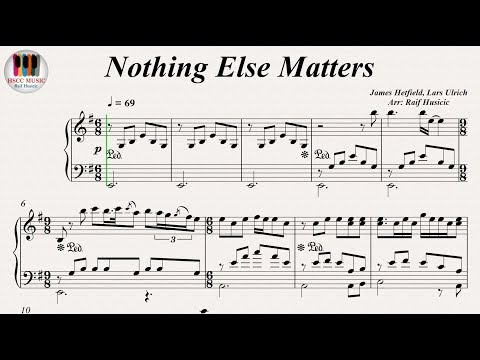 Nothing Else Matters - Metallica, Piano
