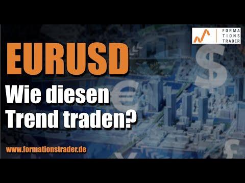 EURUSD: Wie diesen Trend traden?