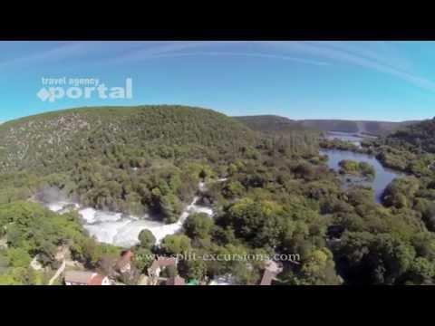 Krka Waterfalls and Sibenik day tour from Split