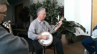 Panhandle Rag - Billy Lee Cox on banjo