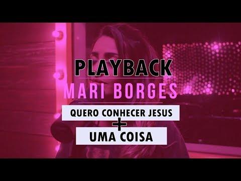 (PLAYBACK) Quero Conhecer Jesus + Uma Coisa   Versão Mari Borges   Piano by Cicero Euclides