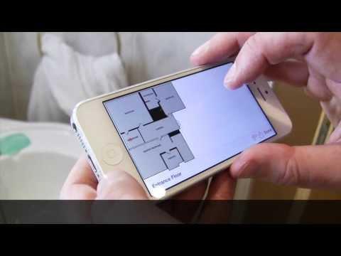 RoomScan Pro Floor Plan Demo - Scanning Whole Floor