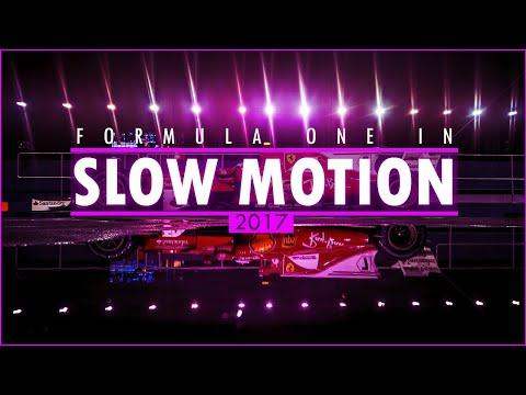 F1 2017 In Slow Motion