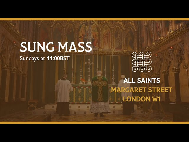 Sung Mass for Trinity 2