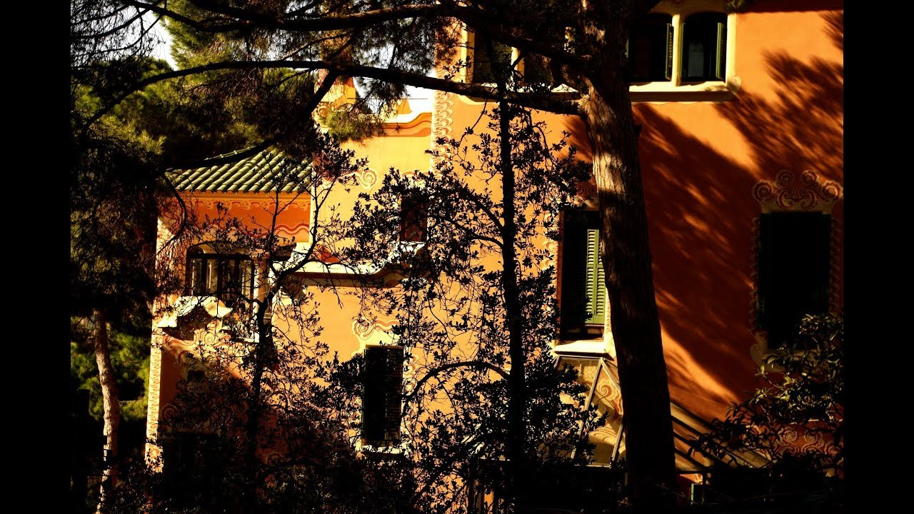 Casa Museo Gaudi.Fotos De Barcelona Casa Museo Gaudi Parque Guell Youtube