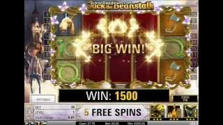 Jack And the Beanstalk Online Slot - Minimum Stake HUGE WIN!!!!!!!  (1340xBet)(sadly the casino i was playing was having errors during my win so there is a few pauses during it , my second time ive won huge on this slot on 20p spins., 2014-11-28T04:23:45.000Z)