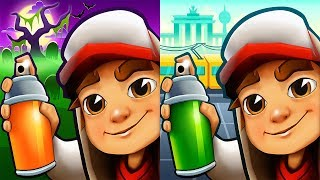 Subway Surfers New Orleans vs Berlin - Halloween Android Gameplay
