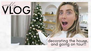 DECORATING FOR CHRISTMAS IN NOVEMBER!   Lauren Elizabeth VLOGS
