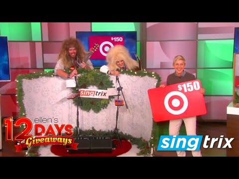 Singtrix - Ellen DeGeneres 12 Days of Giveaways
