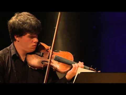 Jan Mracek-  Joseph Joachim International Violin Competition Hannover