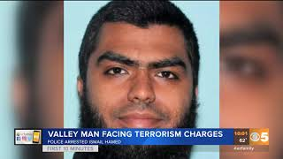 Arizona man facing terrorism charges