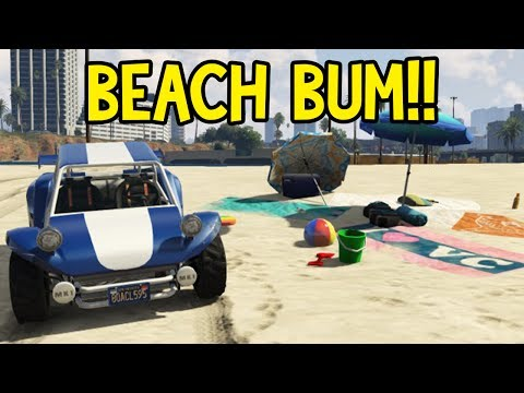 SWEET Beach Buggy!! Beach Bum GTA 5 DLC!