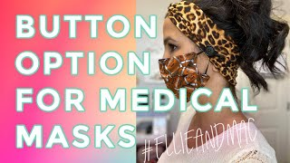 FREE TUTORIAL: How To Make Headbands With Buttons Perfect For Holding Medical Masks!!
