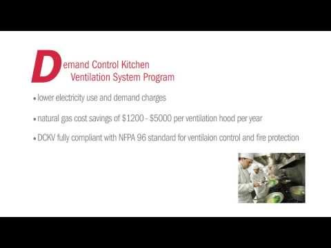 Demand Control Kitchen Ventilation