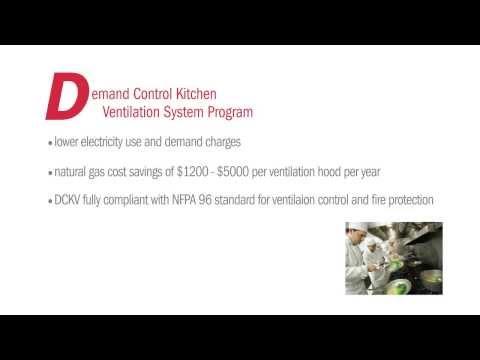 Demand Control Kitchen Ventilation