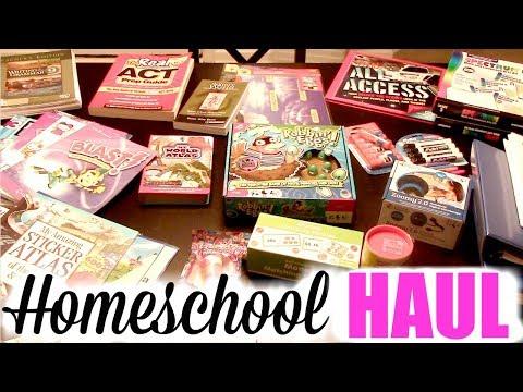 HUGE HOMESCHOOL HAUL!   Where I to ♥️ Buy Curriculum   Ollie's, Amazon, Oriental Trading & More!