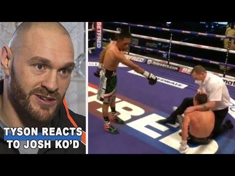 Tyson Fury Reacts To Josh Warrington KO Loss Vs Mauricio Lara At Wembley Arena