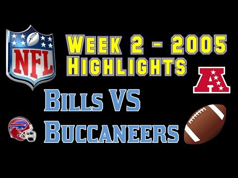 NFL 2005 Week 2 Bills VS Buccaneers
