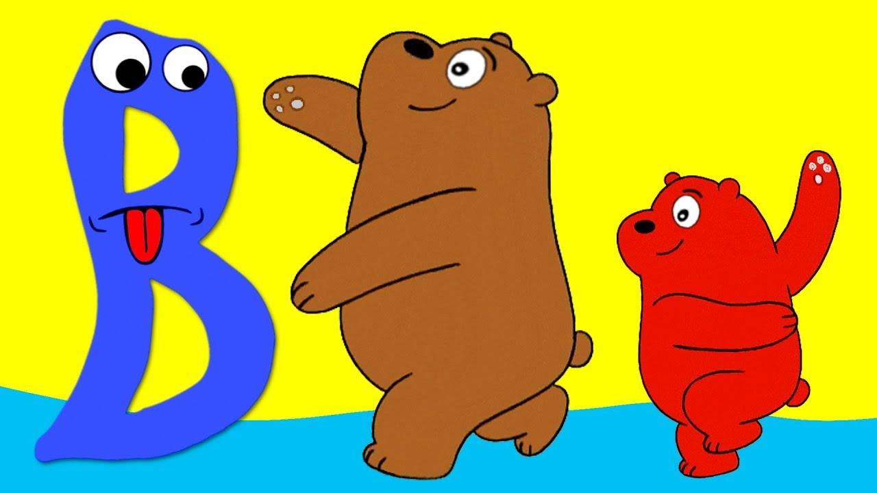 Learn the Alphabet Animals - Letter B - BEAR
