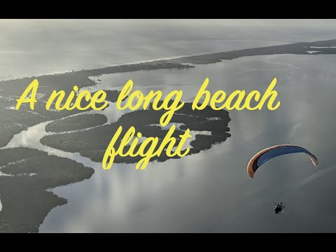 A nice long beach flight