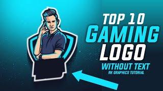 Top 10 Avatar Logo gaming | gaming logo 2020 | new trending gaming logo | Rk graphics tutorial