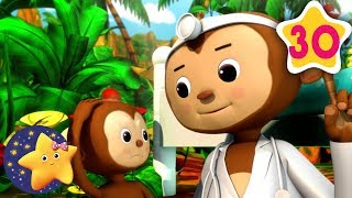 How To Count 6 Little Monkeys | Fun Learning with LittleBabyBum | NurseryRhymes for Kids