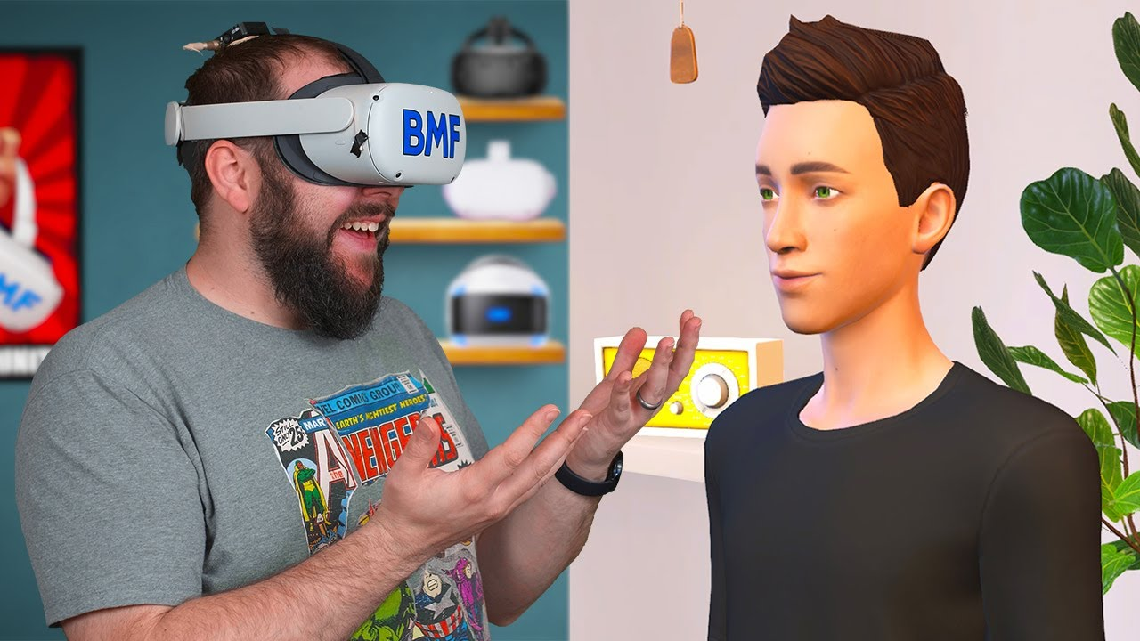 I Made An AI Friend In VR On The Oculus Quest 2