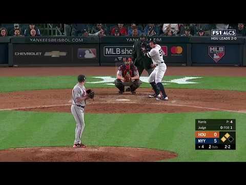 Aaron Judge 3-Run Homerun vs Astros | Yankees vs Astros Game 3 ALCS