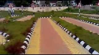 driving test track in tirupati - rto office | separate tracks on description