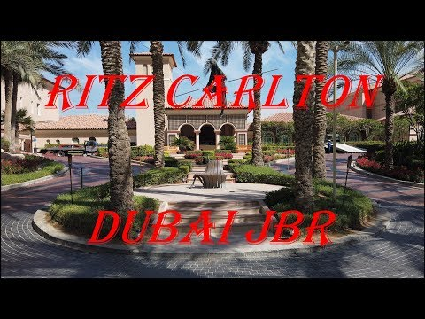 Ritz Carlton Hotel JBR Dubai 2019