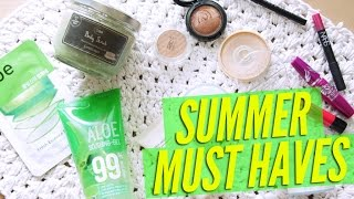 Summer Must Haves, Skincare & Makeup ♥ 여름을 이겨내는 스킨케어&메이크업 아이템 Thumbnail