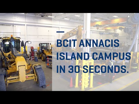 BCIT Annacis Island Campus in 30 seconds