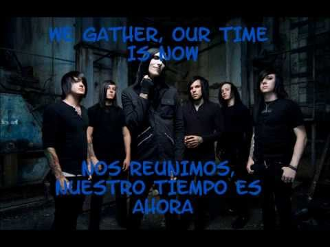 MOTIONLESS IN WHITE - We Only Come Out At Night (ESPAÑOL-INGLES)