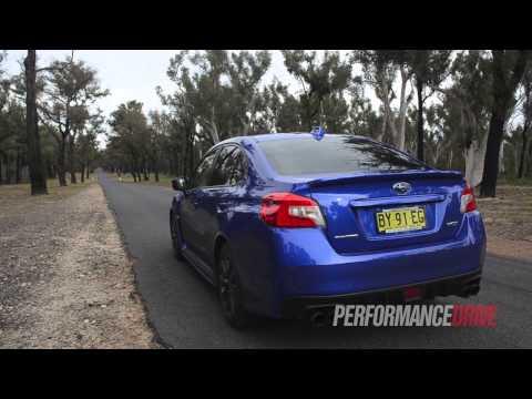 2015 Subaru WRX 0-100km/h & engine sound