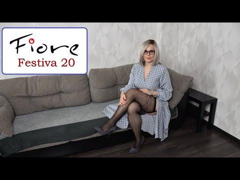 FIORE FESTIVA 20 DEN STOCKINGS