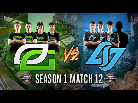 Black Ops 3 CWL - Season 1 Match 12  - OpTic vs. CLG