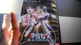 Best Macross Game Ever Sega Bandai Namco Sony playstation 2 PS2