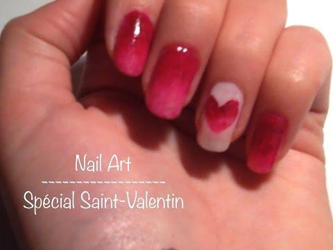 Nail Art Facile : Spécial Saint-Valentin