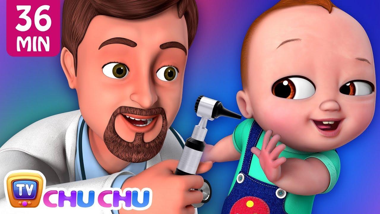 Doctor Checkup Song + More ChuChu TV Baby Nursery Rhymes & Kids Songs