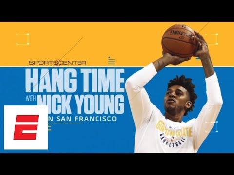 Nick Young talks upcoming Warriors' season while touring San Francisco | SportsCenter | ESPN