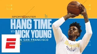Nick Young tours San Francisco before first season with Warriors | Hang Time with Sam Alipour | ESPN