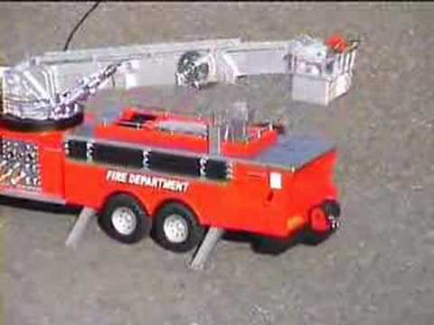 RC Firetruck @ Otherland Toys - YouTube