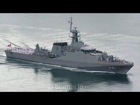 กองทัพเรือ HTMS Krabi OPV 551 - Royal Thai Navy offshore patrol vessel arrived Sasebo タイ海軍佐世保寄港