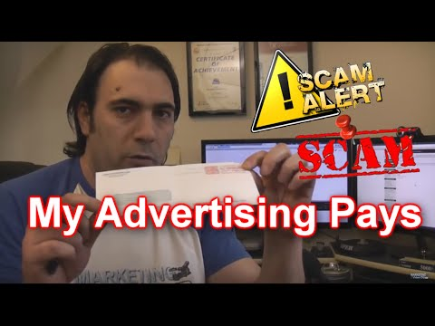 My advertising pays scam exposed